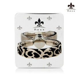 ビジョンネット 〔スマホリング〕Smart Grip Rexx Ring Metal Silver