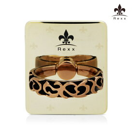 ビジョンネット 〔スマホリング〕Smart Grip Rexx Ring Gold