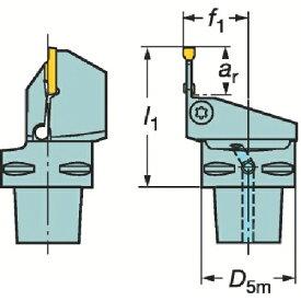サンドビック Sandvik コロマントキャプト コロカット3用カッティングヘッド C3-RF123T06-22045BM