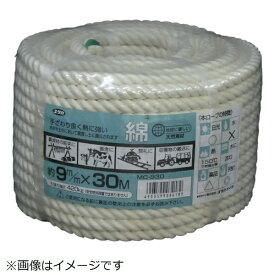 ユタカメイク YUTAKA ユタカメイク ロープ 綿ロープ万能パック 9φ×30m