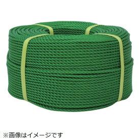 ユタカメイク YUTAKA ユタカメイク ロープ PEロープ巻物 9φ×200m グリーン