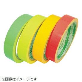 日東エルマテリアル Nitto L Materials 日東エルマテ 蛍光テープ 75mmX5m オレンジ