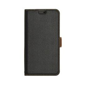 ラスタバナナ RastaBanana iPhone XR 6.1インチ用 薄型手帳ケース サイドマグネット 4239IP861BO ブラック
