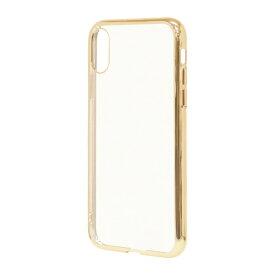 ラスタバナナ RastaBanana iPhone XS Max 6.5インチ用 トライタンメタルフレームケース 4324IP865TR ゴールド