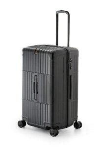 ディパーチャー departure スーツケース ハードキャリー 80L departure(ディパーチャー) レザーマットブラック HD-510-27 [TSAロック搭載]