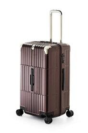 ディパーチャー departure スーツケース ハードキャリー 80L departure(ディパーチャー) マットジュエリーレッド HD-510-27 [TSAロック搭載]
