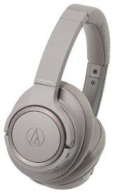 オーディオテクニカ audio-technica ブルートゥースヘッドホン ATHSR50BTBW ブラウン [リモコン・マイク対応 /Bluetooth /ハイレゾ対応][ATHSR50BTBW]