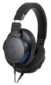 オーディオテクニカ audio-technica ヘッドホン ブラック ATH-MSR7b [φ3.5mm ミニプラグ /ハイレゾ対応][ATHMSR7BBK]