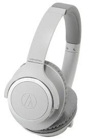 オーディオテクニカ audio-technica ブルートゥースヘッドホン グレー ATH-SR30BT GY [リモコン・マイク対応 /Bluetooth][ATHSR30BTGY]