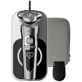 フィリップス PHILIPS ウェット&ドライ電気シェーバー Shaver S9000 Prestige SP9861/13 [回転刃 /AC100V-240V]