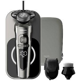 フィリップス PHILIPS ウェット&ドライ電気シェーバー Shaver S9000 Prestige SP9860/14 [回転刃 /AC100V-240V]