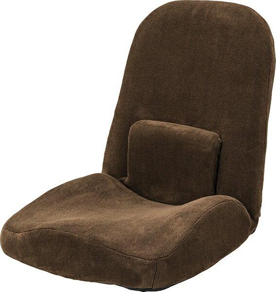 東谷 【座椅子】腰サポートリクライナー RKC-172BR(W47×D61-103×H58-14×SH8cm)
