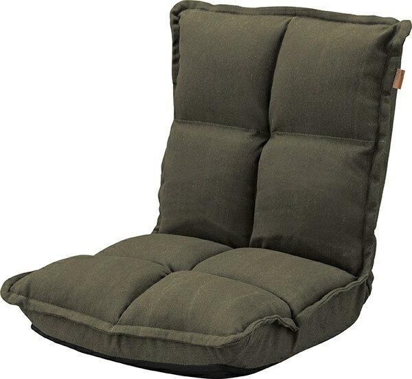 東谷 【座椅子】カックンリクライナー RKC-173GR(W38×D43-52×H23-47×SH13cm)