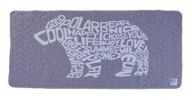 東谷 AZUMAYA 【涼感パッド】ソフトクール ベッドパッド シングルサイズ(100×200cm) GLS-595B