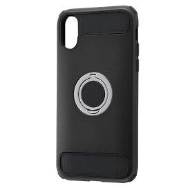 レイアウト rayout iPhone XS 5.8インチ/X用 耐衝撃 リング付360