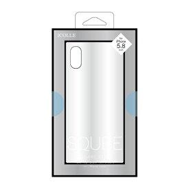 F.S.C. 藤本電業 iPhone XS 5.8インチ用 背面ガラス高光沢ケース