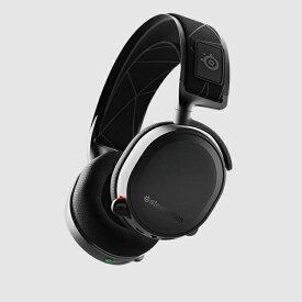 STEELSERIES スティールシリーズ 61505 ゲーミングヘッドセット 2019Edition Arctis 7 ブラック [ワイヤレス(USB)+有線 /両耳 /ヘッドバンドタイプ][61505]
