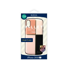 MSソリューションズ iPhone XR 6.1インチ用 ハイブリッドケース PALLET Katie