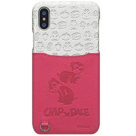 東栄 TOEI iPhone XS 5.8インチ用 ポケットケース チップ&デール