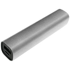 TAGlabel by amadana タグレーベル バイ アマダナ 【ビックカメラグループオリジナル】モバイルバッテリー mobile battery AT-MBA30P(SV) シルバー [3000mAh /1ポート /USB給電]【point_rb】
