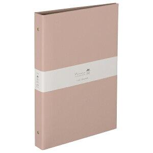 ナカバヤシ Nakabayashi ハルマー バインダー式ポケットアルバム L判3段120枚収納 AHR3Y201P ピンク