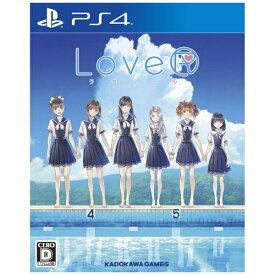 角川ゲームス KADOKAWA GAMES LoveR【PS4】 【代金引換配送不可】