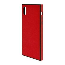 ラスタバナナ RastaBanana iPhone XR 6.1インチ用 ガラスTPU×PCハイブリッドケース 4335IP861HB レッド