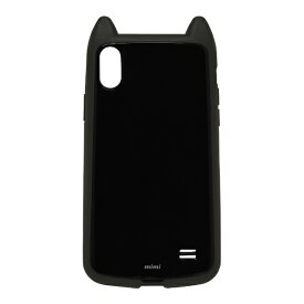 ラスタバナナ RastaBanana iPhone XS Max 6.5インチ用 VANILLA PACK mimi 4327IP865HB ブラック