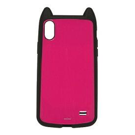 ラスタバナナ RastaBanana iPhone XS Max 6.5インチ用 VANILLA PACK mimi 4329IP865HB マゼンタ