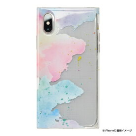 CCCフロンティア CCC FRONTIER iPhone XS 5.8インチ用 Louna Collections watercolor