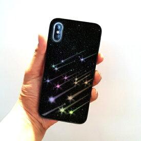 ROA ロア iPhone XS 5.8インチ用 Twinkle Case シューティングスター