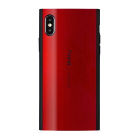 ナチュラルデザイン NATURAL design iPhone XS 5.8インチ用 背面ケース Premium Red