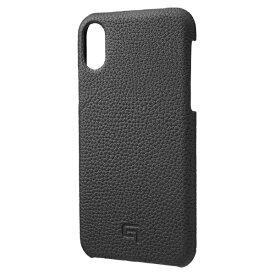 坂本ラヂヲ iPhone XS 5.8インチ用 Shrunken-Calf Leather Shell