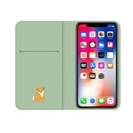 ROA ロア iPhone XS 5.8インチ用 しばたさんダイアリーケース 昼寝