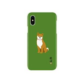 ROA ロア iPhone XS 5.8インチ用 しばたさんケース ミドリ