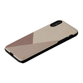 ROA ロア iPhone XS 5.8インチ用 天然木ケースuv3