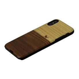 ROA ロア iPhone XS 5.8インチ用 天然木ケース ウマ