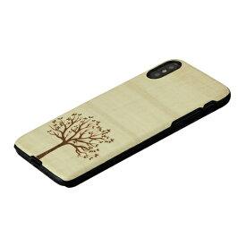 ROA ロア iPhone XS 5.8インチ用 天然木ケース 木