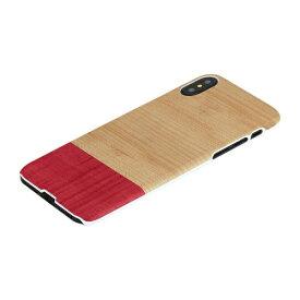 ROA ロア iPhone XS 5.8インチ用 天然木ケースMiss match