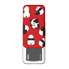 ROA ロア iPhone XS 5.8インチ用 SLIDER GRAPHIC PANDA