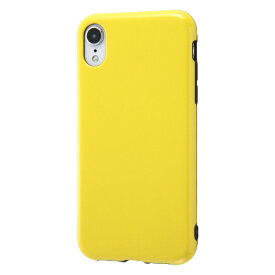 イングレム Ingrem iPhone XR 6.1インチモデル TPUソフトケース Colorap ラメ IN-P18CP1L/Y イエロー