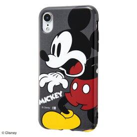 イングレム Ingrem iPhone XR 6.1インチモデル 『ディズニーキャラクター』/TPUソフトケース Colorap IN-DP18CP1/MK ミッキー