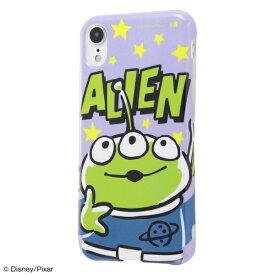 イングレム Ingrem iPhone XR 6.1インチモデル 『ディズニー・ピクサーキャラクター』/TPUソフトケース Colorap IN-DP18CP1/AL 『トイ・ストーリー/リトル・グリーン・メン』