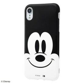イングレム Ingrem iPhone XR 6.1インチモデル 『ディズニーキャラクター』/TPUソフトケース クローズアップ IN-DP18H/MK ミッキー