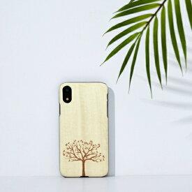 ROA ロア iPhone XR 6.1 天然木ケース 木