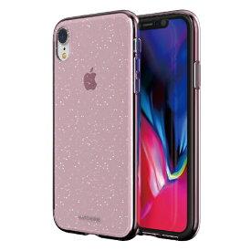 ROA ロア iPhone XR 6.1インチ用 JELLO クリアピンクパール