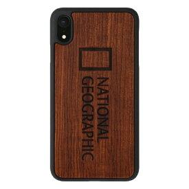 ROA ロア iPhone XR 6.1インチ用 Nature Wood ローズウッド