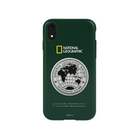 ROA ロア iPhone XR 6.1インチ用 Global Seal Metal-Deco Case グリーン