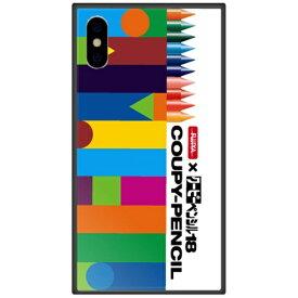 藤家 Fujiya iPhone XS Max 6.5インチ用 サクラクレパス ガラスハイブリッド A. デザインA