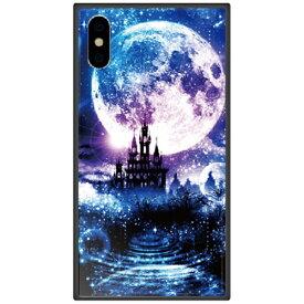 藤家 Fujiya iPhone XS Max 6.5インチ用 幻想デザイン ガラスハイブリッド K. 星月夜